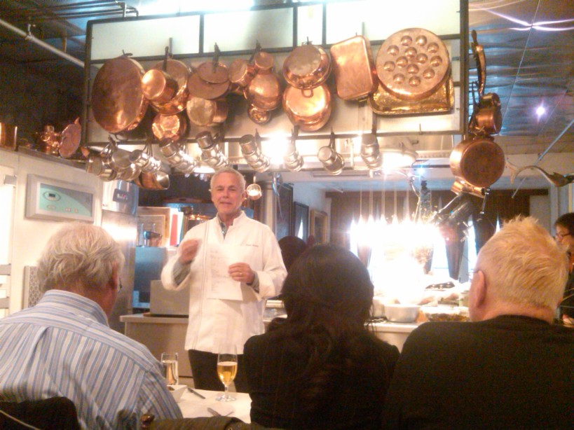 Chef Bouley test kitchen