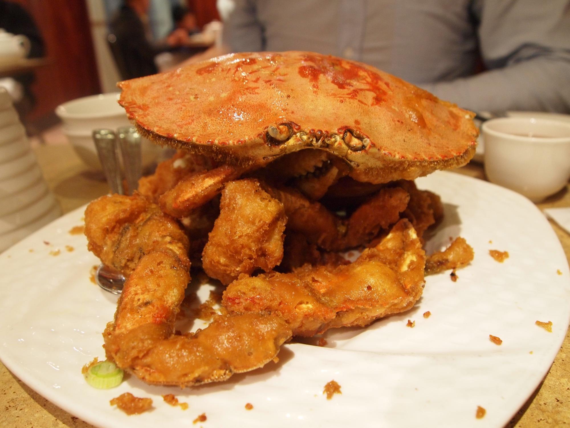 R & G Lounge crab