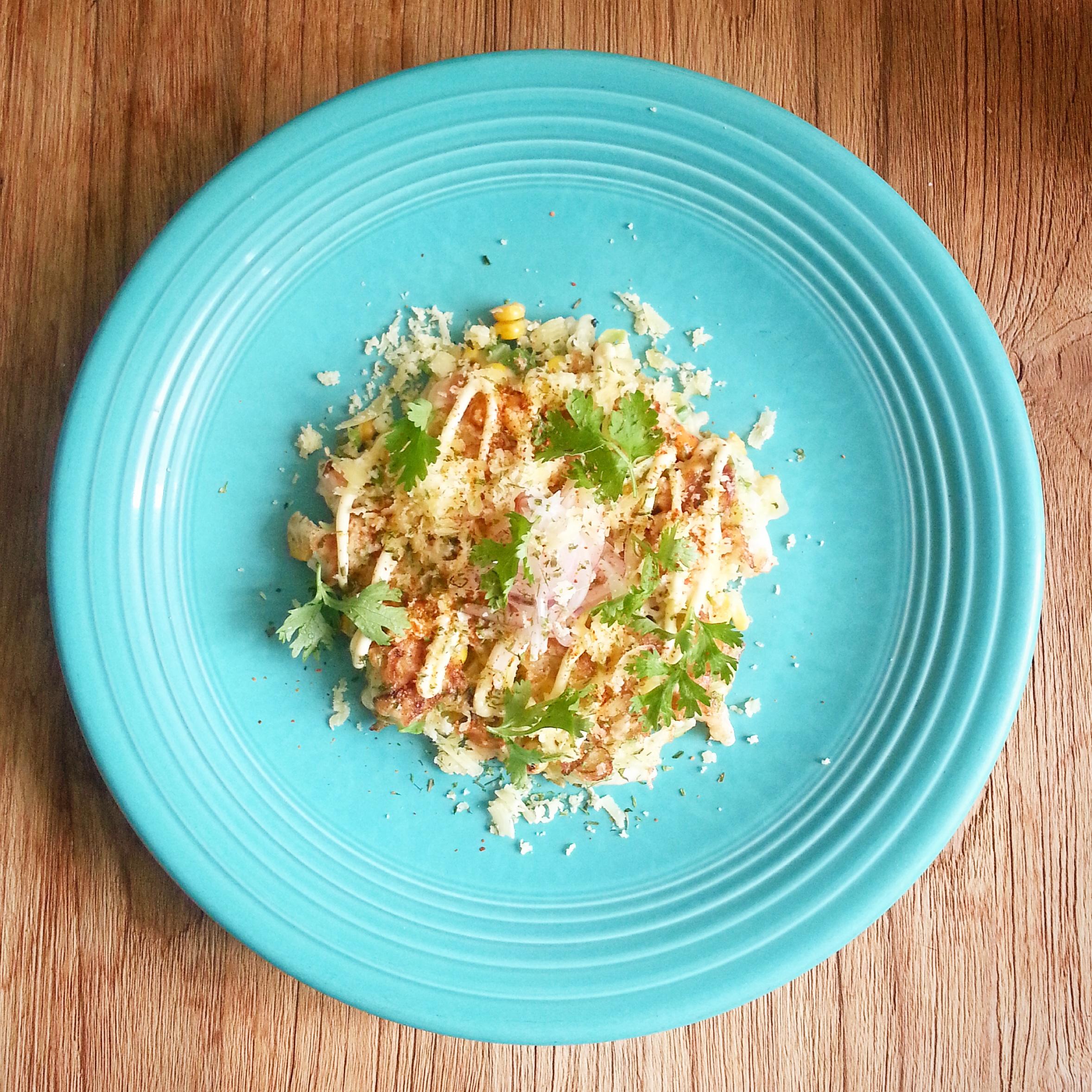 "Aya\'s Kitchen: ""Mexican style"" Okonomiyaki – @umamidiary"