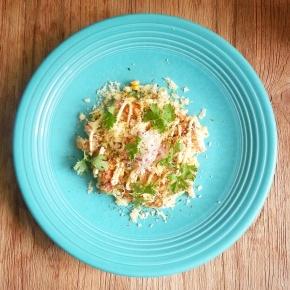 "Aya's Kitchen: ""Mexican style""Okonomiyaki"